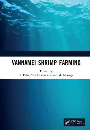 Vannamei Shrimp Farming book cover