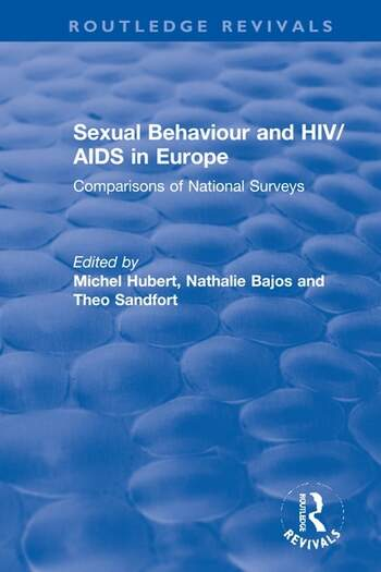Sexual Behaviour and HIV/AIDS in Europe Comparisons of National Surveys book cover