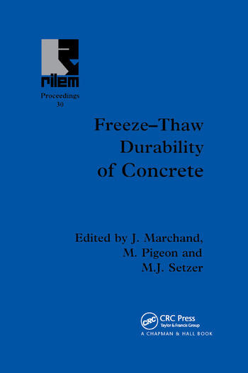 Freeze-Thaw Durability of Concrete book cover
