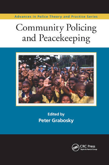 Community Policing and Peacekeeping book cover