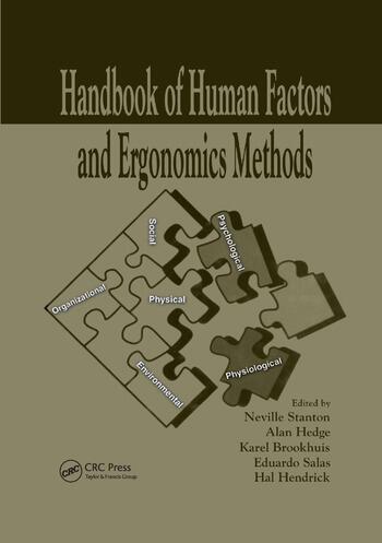 Handbook of Human Factors and Ergonomics Methods book cover