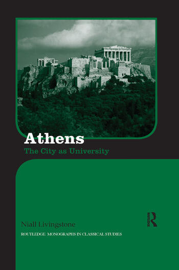 Athens The City as University book cover