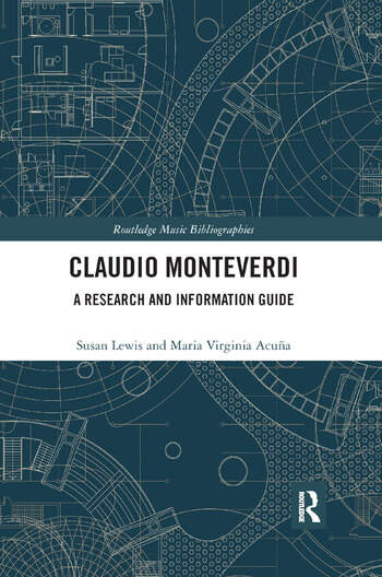 Claudio Monteverdi A Research and Information Guide book cover