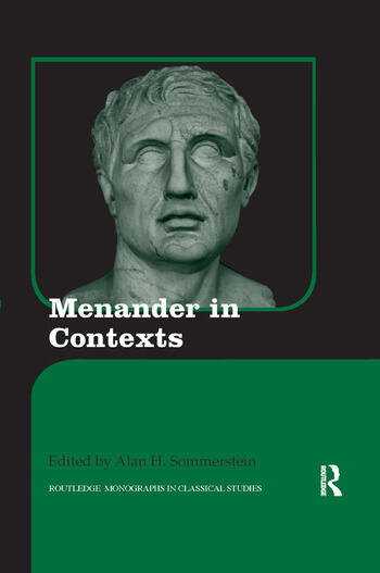 Menander in Contexts book cover