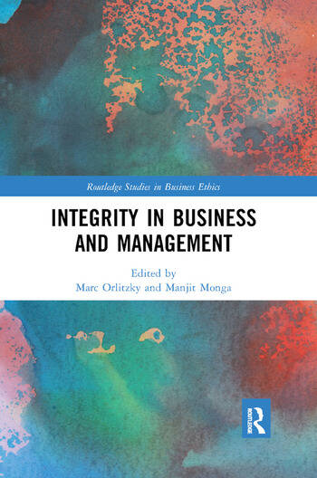 Integrity in Business and Management book cover