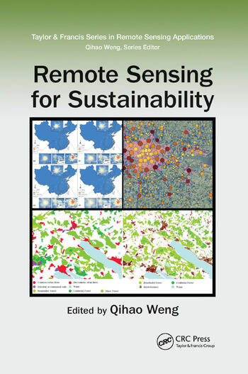 Remote Sensing for Sustainability book cover
