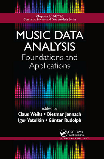 Music Data Analysis Foundations and Applications book cover