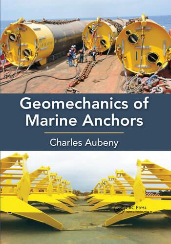 Geomechanics of Marine Anchors book cover