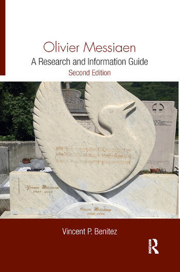 Olivier Messiaen A Research and Information Guide book cover