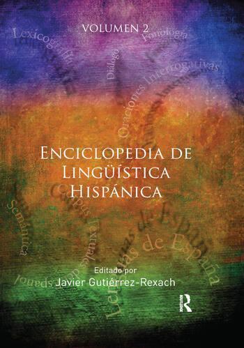 Enciclopedia de Ling��ica Hisp�ca Volume II book cover