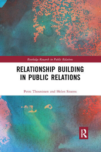 Relationship Building in Public Relations book cover