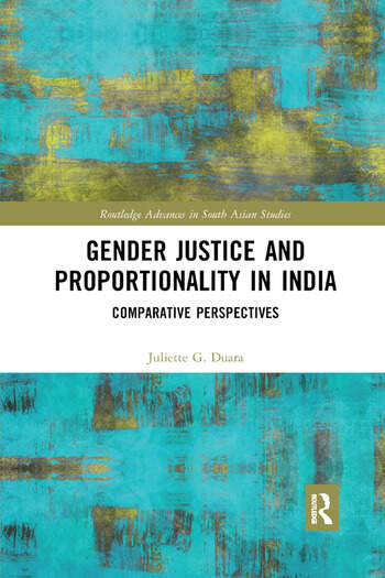 Gender Justice and Proportionality in India Comparative Perspectives book cover