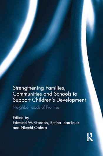 Strengthening Families, Communities, and Schools to Support Children's Development Neighborhoods of Promise book cover