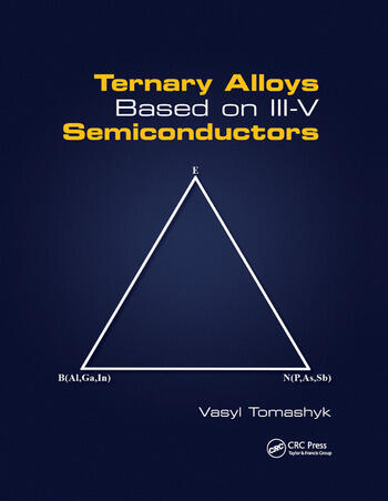 Ternary Alloys Based on III-V Semiconductors book cover