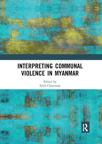 Interpreting Communal Violence in Myanmar book cover