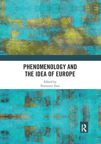 Phenomenology and the Idea of Europe book cover
