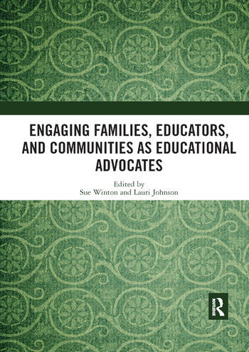 Engaging Families, Educators, and Communities as Educational Advocates book cover