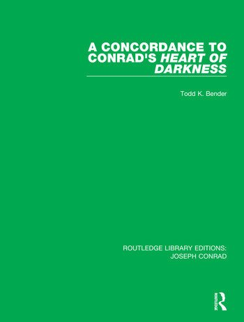 A Concordance to Conrad's Heart of Darkness book cover