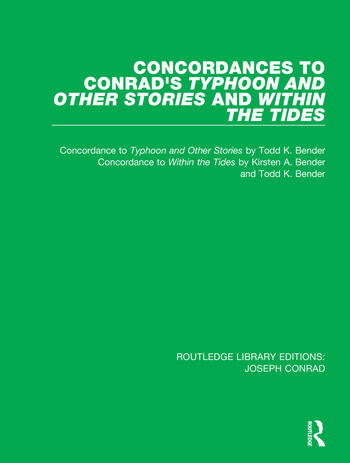 Concordances to Conrad's Typhoon and Other Stories and Within the Tides book cover