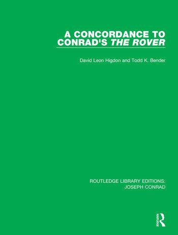 A Concordance to Conrad's The Rover book cover