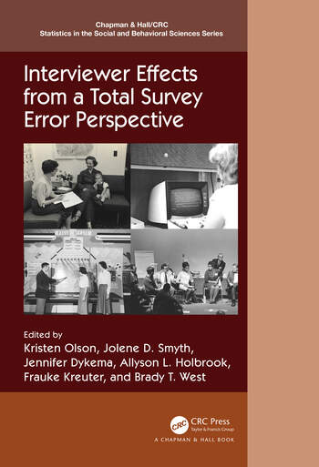 Interviewer Effects from a Total Survey Error Perspective book cover