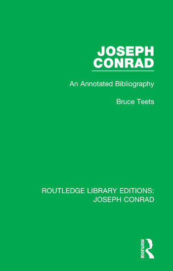 Joseph Conrad An Annotated Bibliography book cover