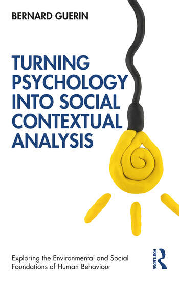 Turning Psychology into Social Contextual Analysis book cover