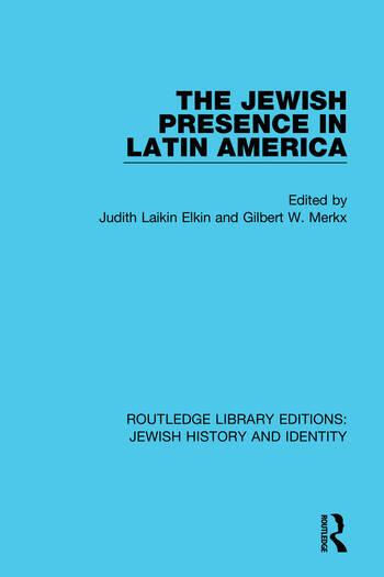 The Jewish Presence in Latin America book cover