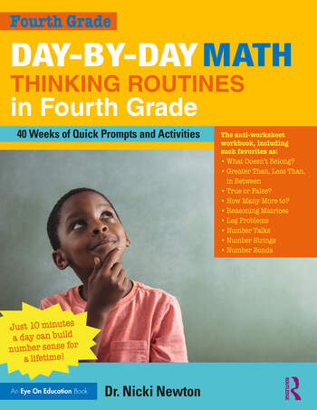 Day-by-Day Math Thinking Routines in Fourth Grade 40 Weeks of Quick Prompts and Activities book cover