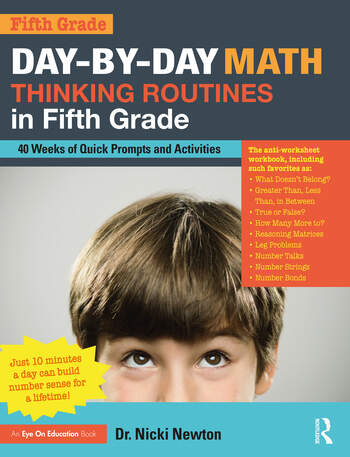 Day-by-Day Math Thinking Routines in Fifth Grade 40 Weeks of Quick Prompts and Activities book cover