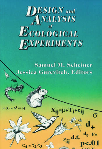 Design and Analysis of Ecological Experiments book cover
