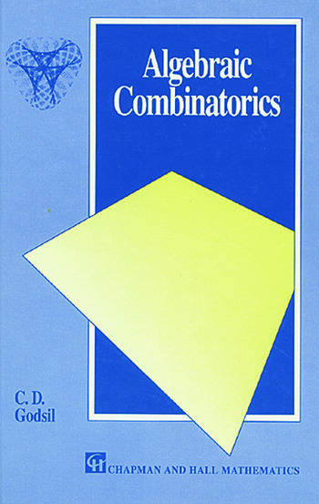 Algebraic Combinatorics book cover