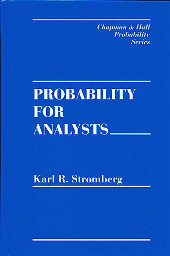 Probability For Analysts book cover