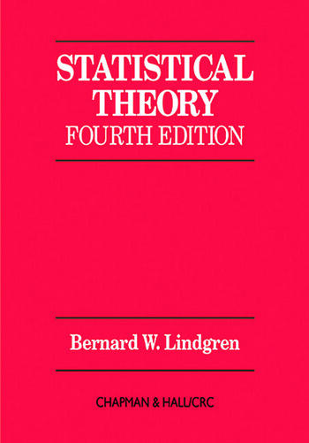 Statistical Theory book cover