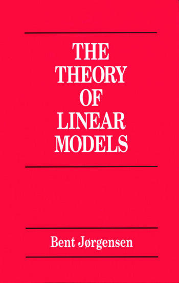 Theory of Linear Models book cover