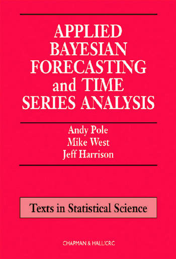 Applied Bayesian Forecasting and Time Series Analysis book cover
