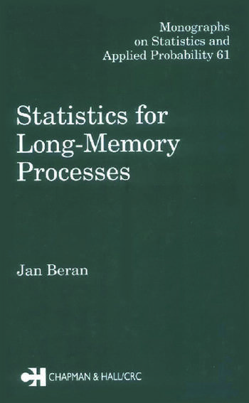 Statistics for Long-Memory Processes book cover