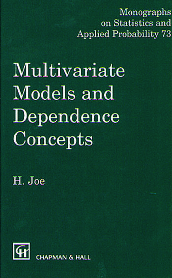 Multivariate Models and Multivariate Dependence Concepts book cover