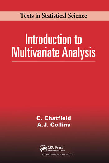 Introduction to Multivariate Analysis book cover