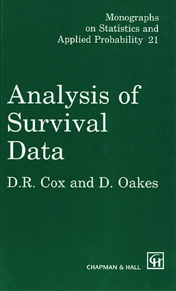 Analysis of Survival Data book cover