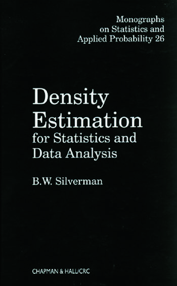 Density Estimation for Statistics and Data Analysis book cover