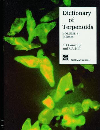 Dictionary of Terpenoids book cover