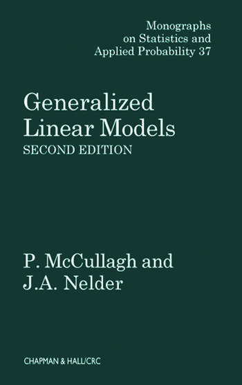 Generalized Linear Models book cover