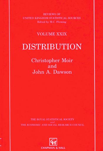 Distribution book cover