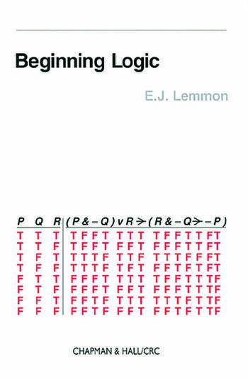 Beginning Logic book cover