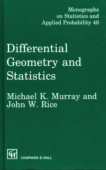 Differential Geometry and Statistics book cover