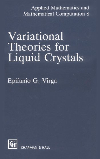 Variational Theories for Liquid Crystals book cover