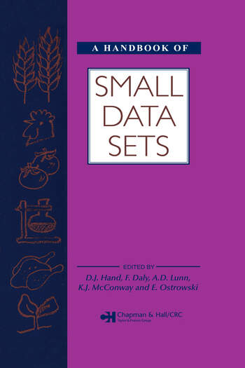 A Handbook of Small Data Sets book cover