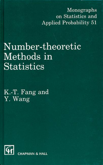 Number-Theoretic Methods in Statistics book cover