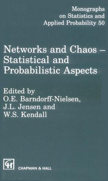 Networks and Chaos - Statistical and Probabilistic Aspects book cover